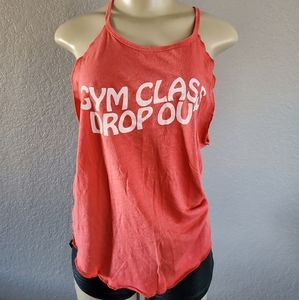 """PINK V.S """"Gym Class Dropout Top"""""""
